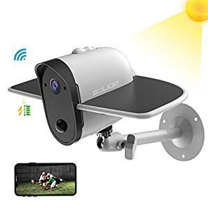 SOLIOM Outdoor Solar-Powered Security Camera