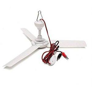 SUNLAR 19.7-Inch Portable Ceiling Fan
