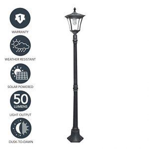 Sterno Home Solar LED Street Light