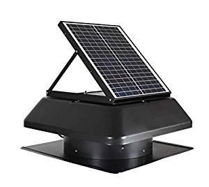 iLIVING Smart Exhaust Solar Attic Fan