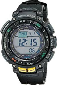 Casio Men's Pathfinder Solar-Powered Watch