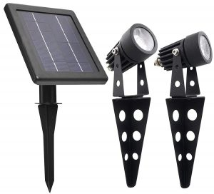 Solar Light Mart Mini 50x Twin LED Spotlight