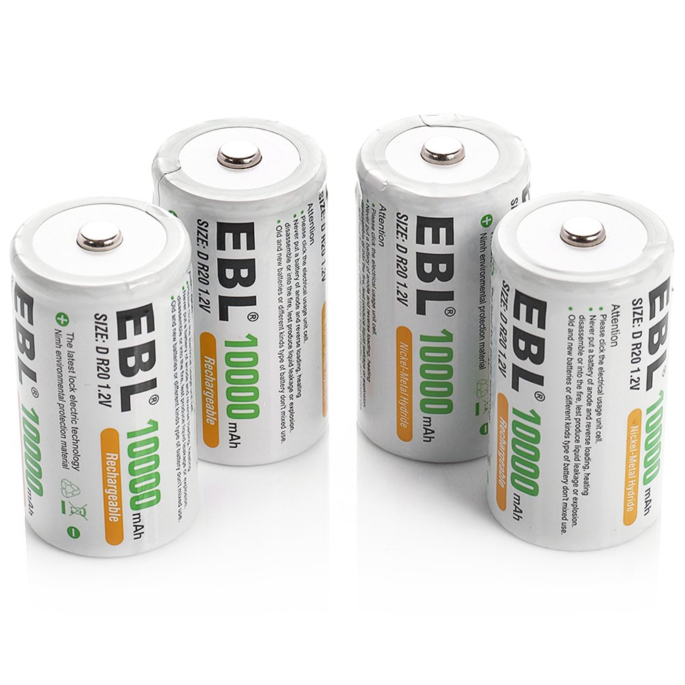 Top 5 Best Rechargeable Batteries For 2020 Earthtechling