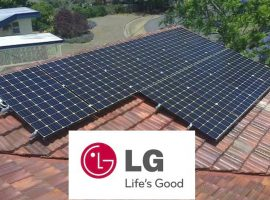 LG solar panel techology