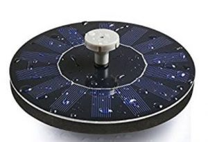 Tranmix Solar Bird Bath Fountain Pump