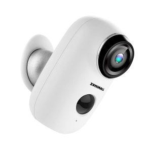 ZUMIMALL Wireless Rechargeable Battery-Powered Home Security Camera