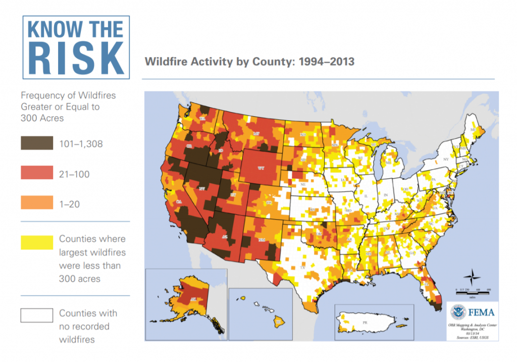 Wildefire Activity Map