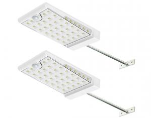 Creative Design Panel Solar Lights Two-Pack