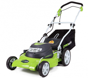 Greenworks 20 inch 3-in-1 Corded Mower