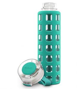 Ello Syndicate Glass Water Bottle