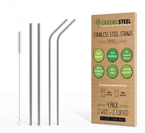 Greens Steel Stainless Steel Straws