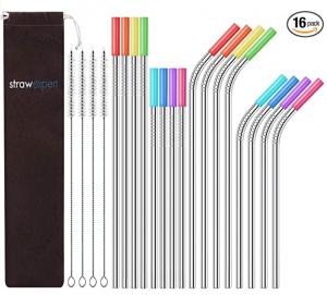 StrawExpert Stainless Steel Straws