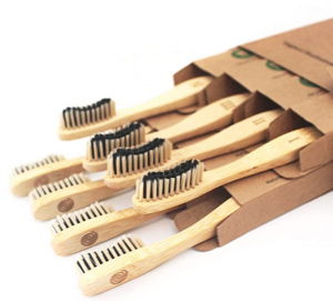 Bamboozled Charcoal Bristle Bamboo Toothbrushes