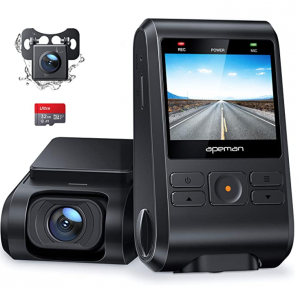 APEMAN Front and Rear Dash Cam