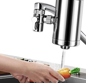 Lelekey Faucet Mounted Water Filter