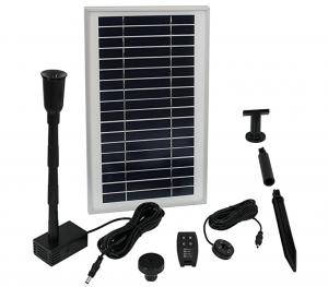 Sunnydaze Solar Water Pump