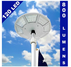 Telepole Manufacturing Inc. Solar Flagpole Light