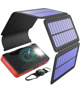 BLAVOR Solar Charger Five Panels Detachable