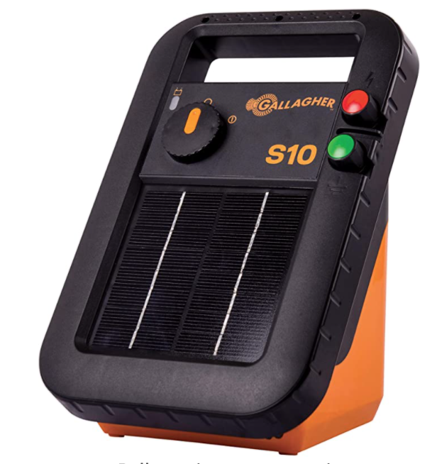 Gallagher S10 6V Fence Charger