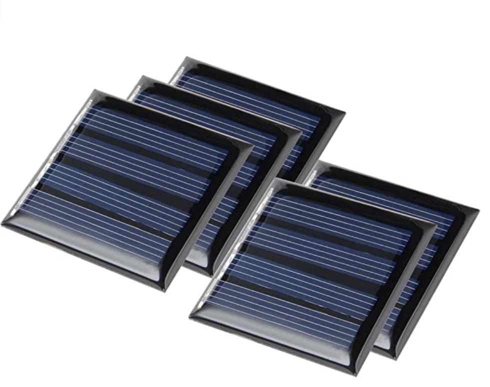 Uxcell 2V Solar Panel 5-Pack