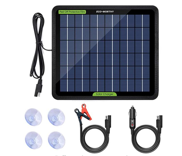 ECO-Worthy 5W Solar Panel