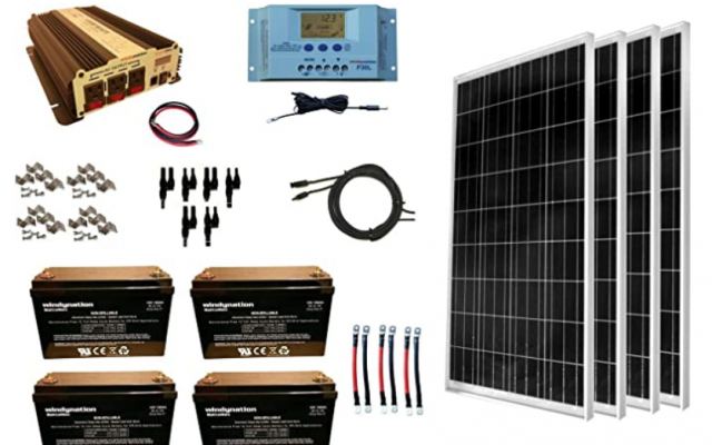 WindyNation 400W Solar Power Kit