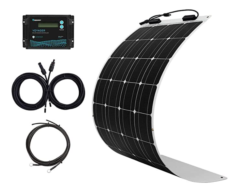 Renogy 100W Flexible Solar Panel Kit