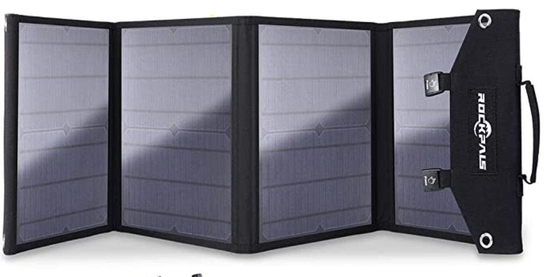 Rockpals 100W Solar Kit