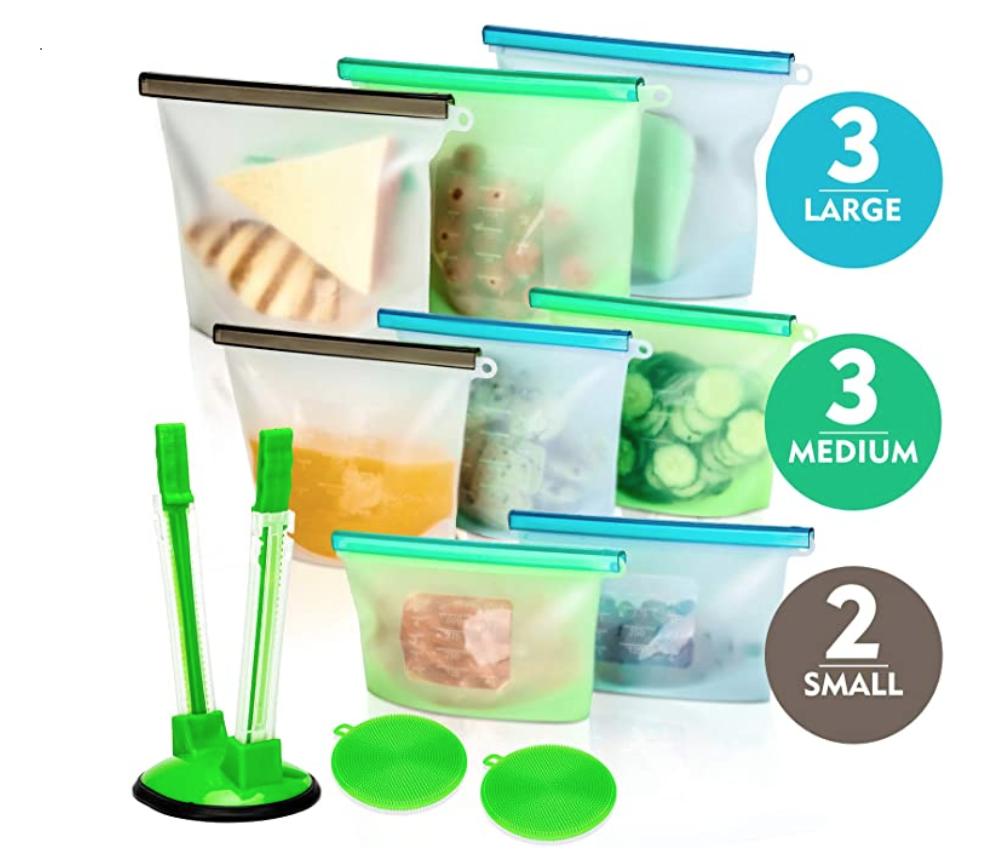 Recredo Reusable Storage Bags
