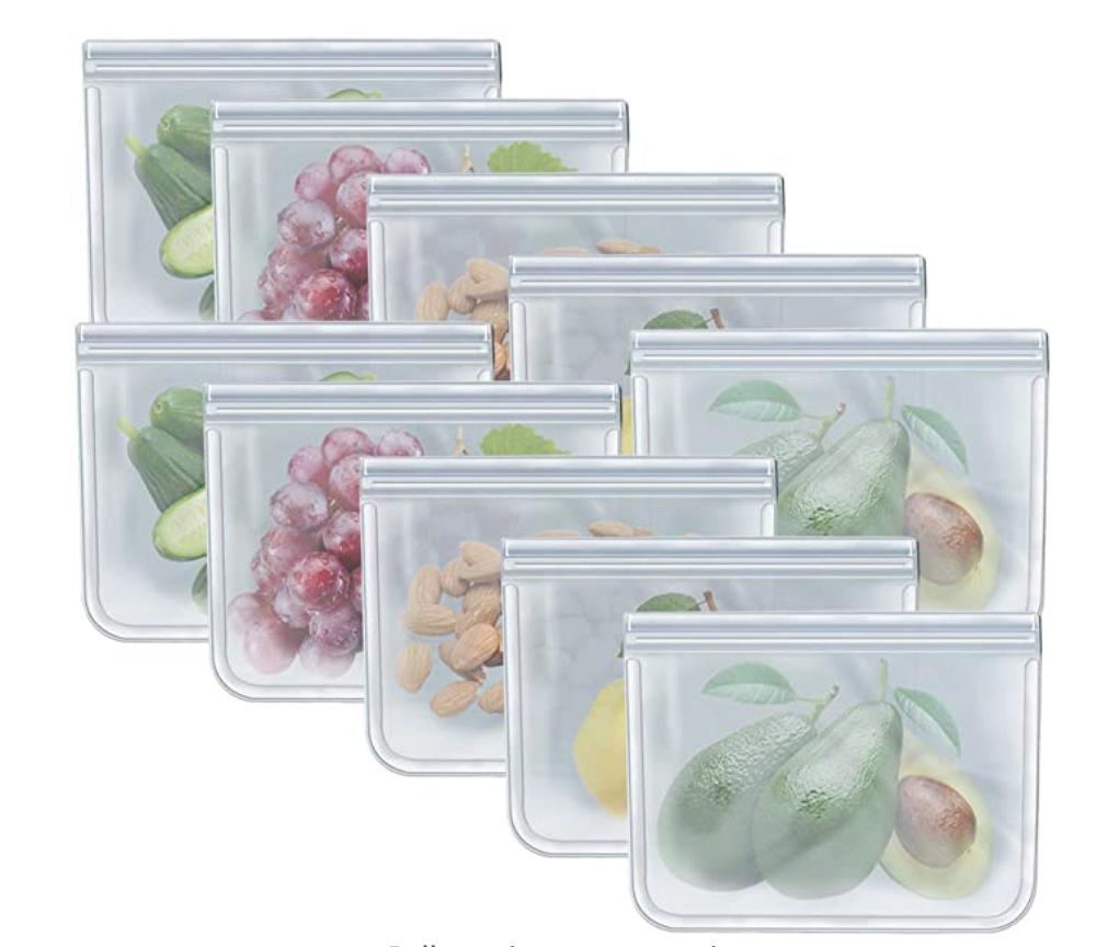 RLAVBL Quart Food Storage Bags