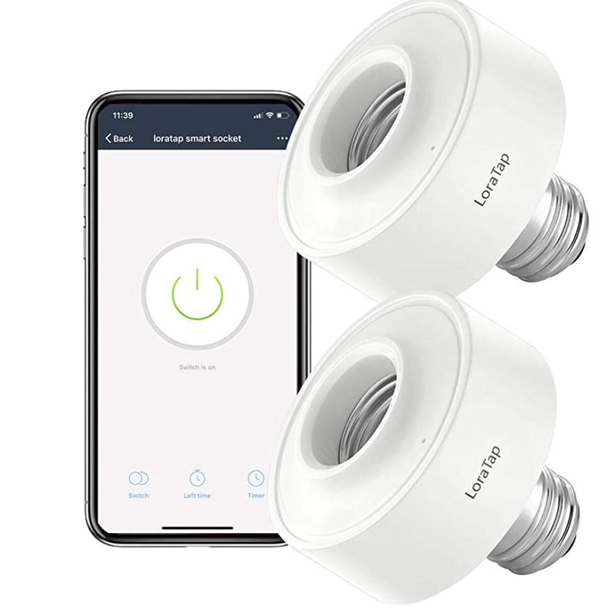 LoraTap Smart Wi-Fi Bulb Socket Adaptor
