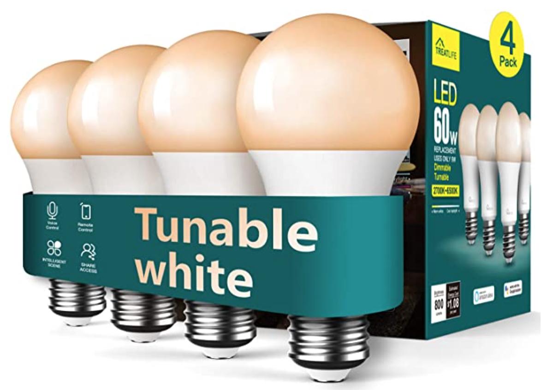 Treatlife Smart Dimmable Light Bulb