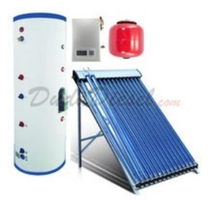 Duda Diesel Solar Water Heater System