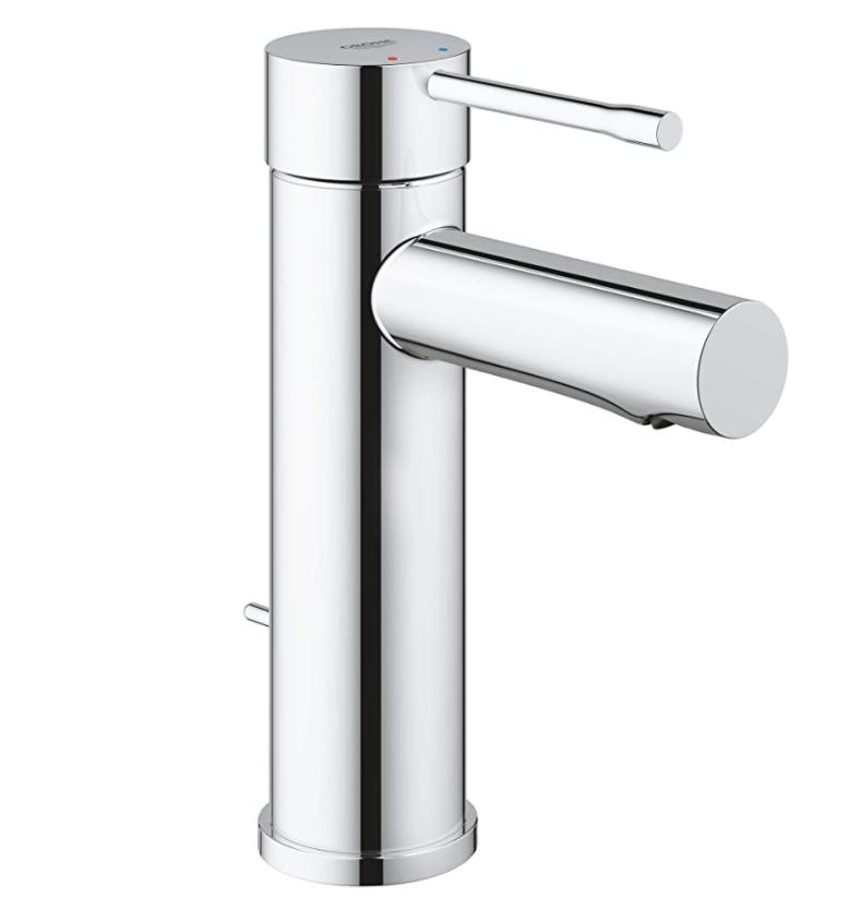 Grohe Essence Single-Hole Bathroom FaucetGrohe Essence Single-Hole Bathroom Faucet