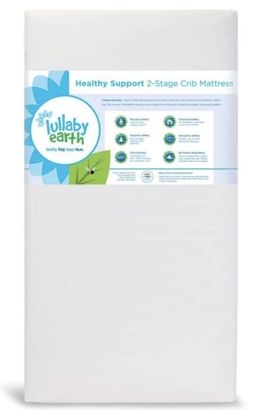 Lullaby Earth Waterproof Crib Mattress